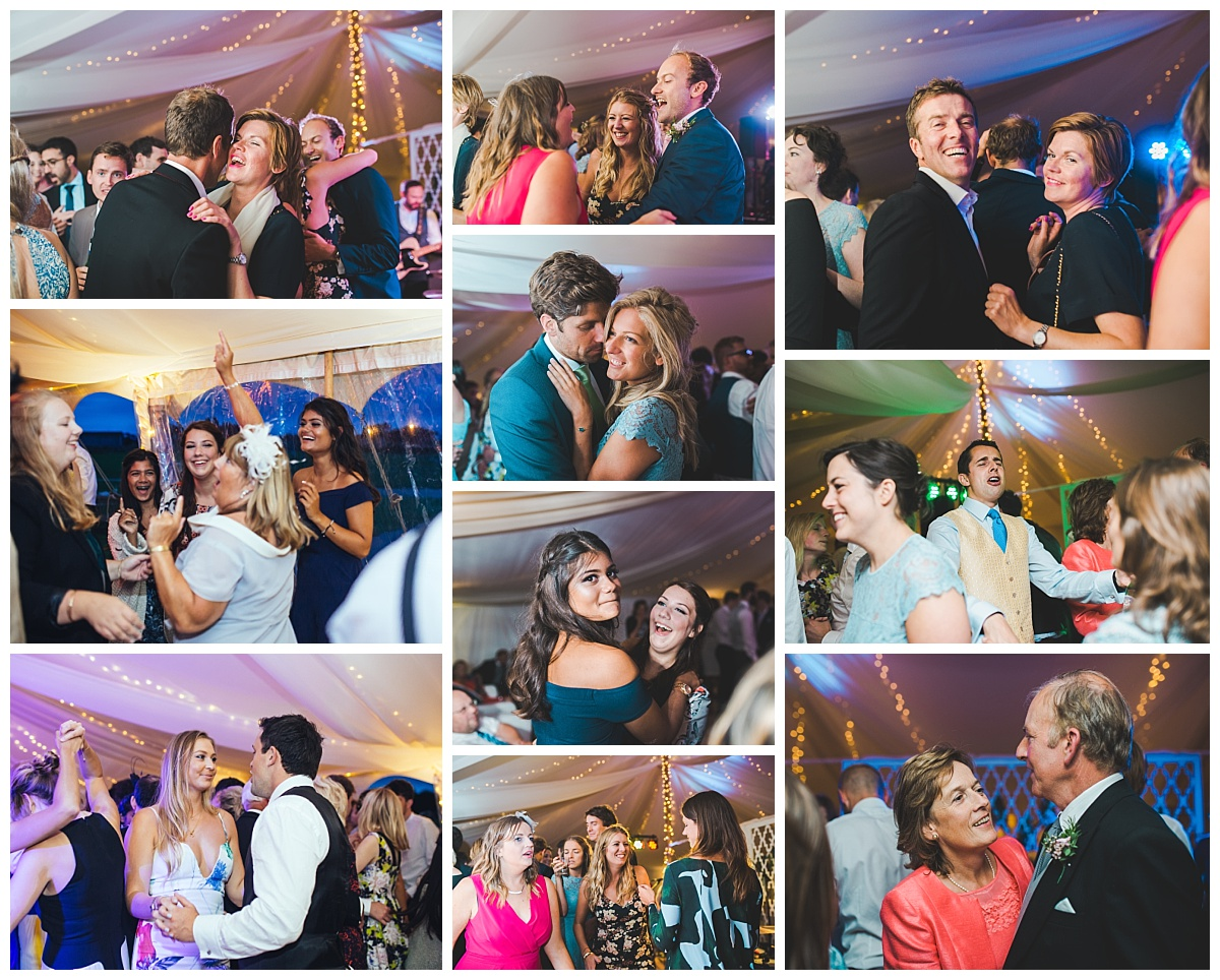 dancing - marquee wedding Lancashire