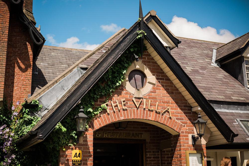 Exterior of The Villa at Wrea Green Preston