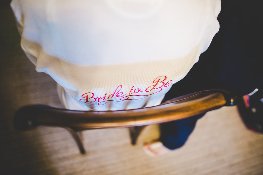 Bride to be table cloth- Handmade decorations