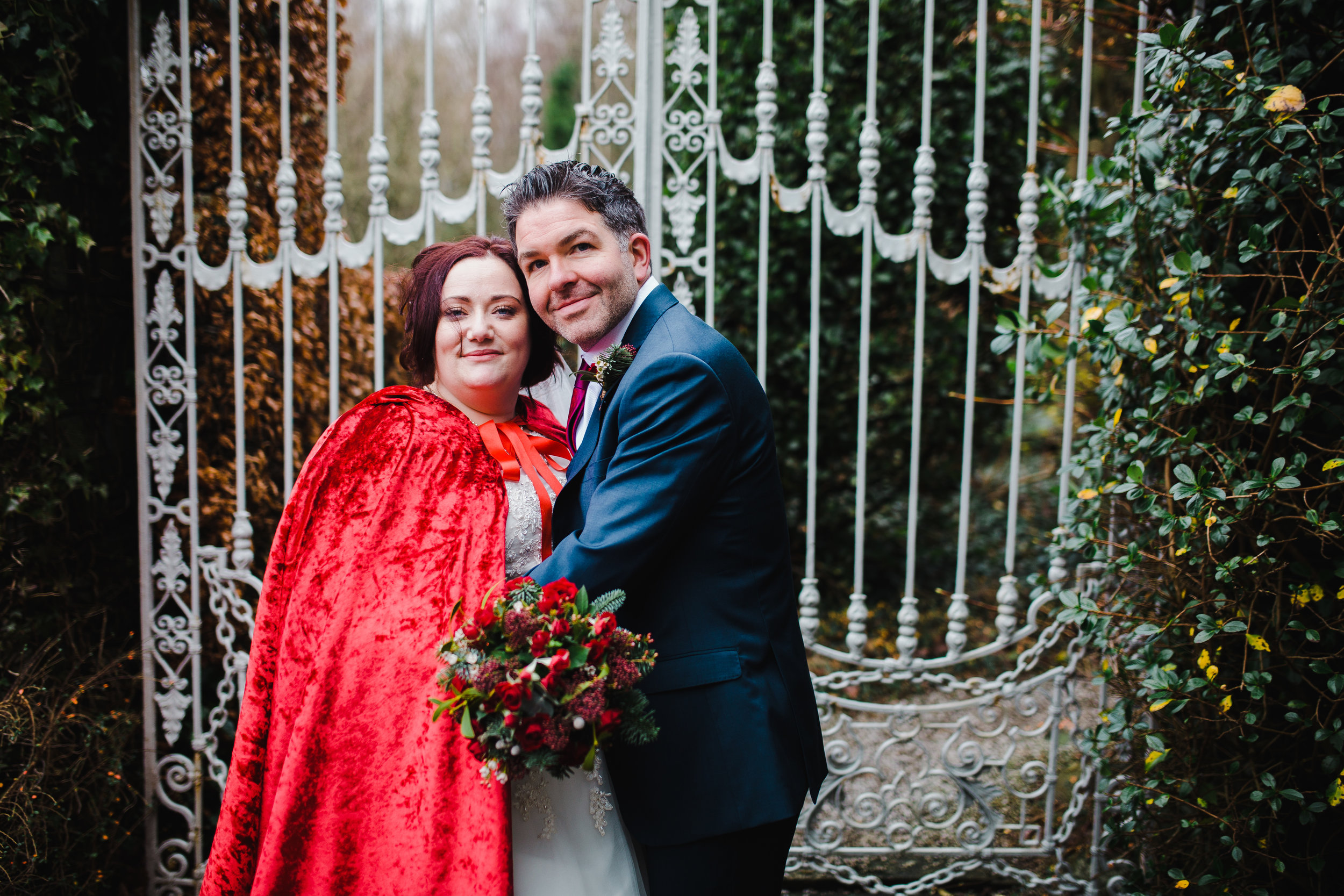 winter wedding photography in the lakes