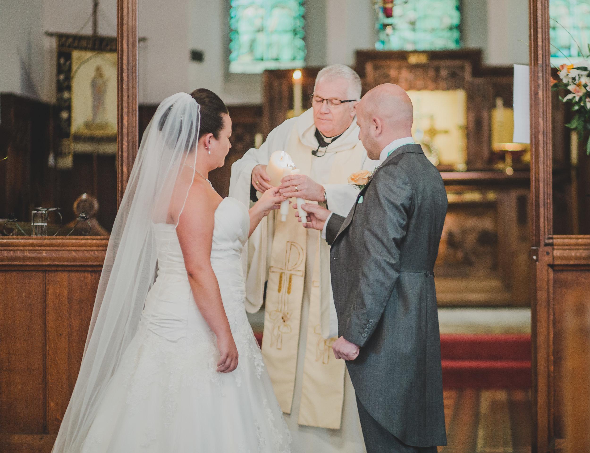 wedding ceremony in Accrington