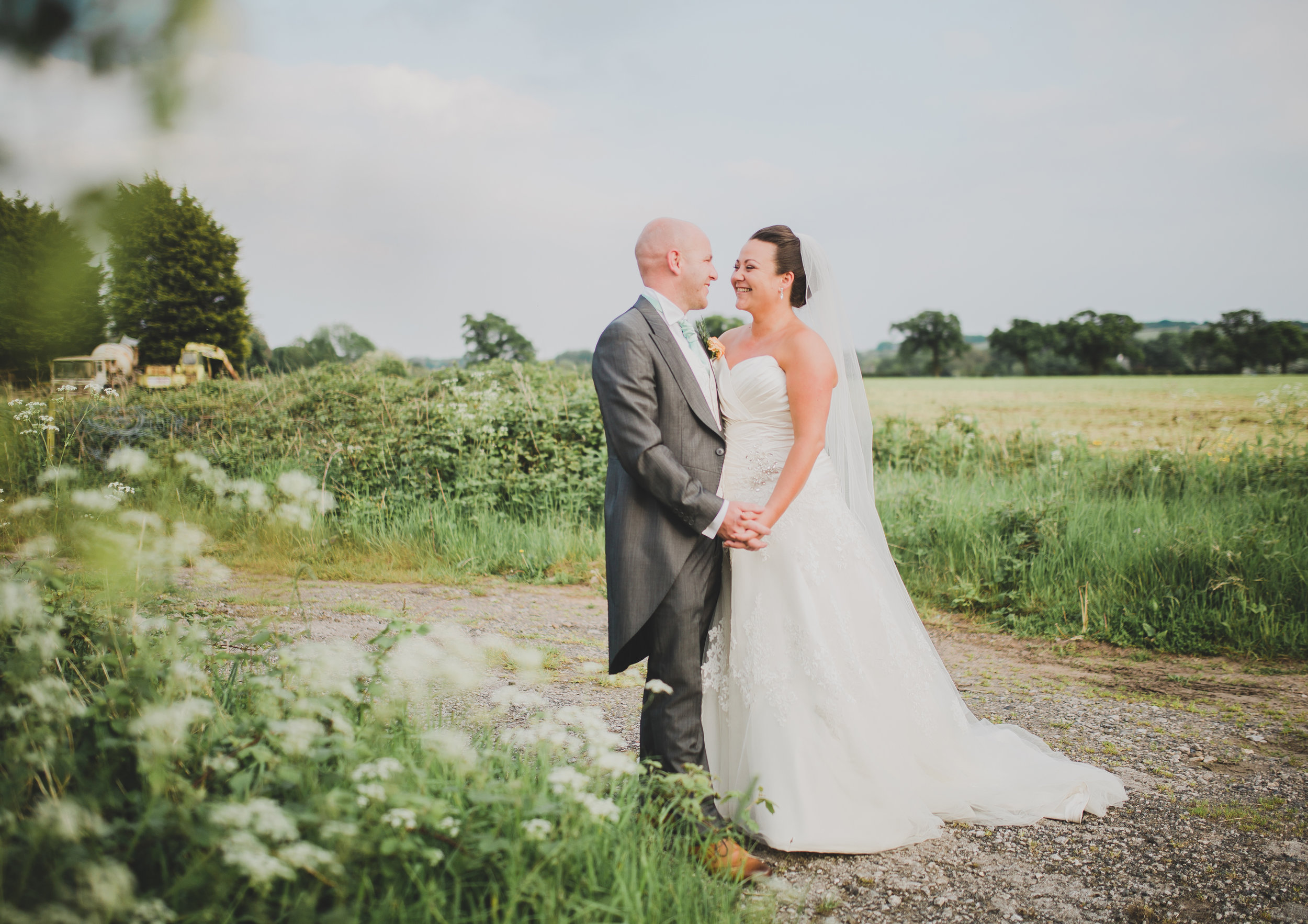 evening portraits - lancashire wedding photographer