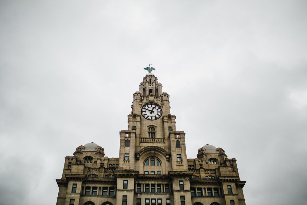 Exterior of the Liver Building, Liverpool