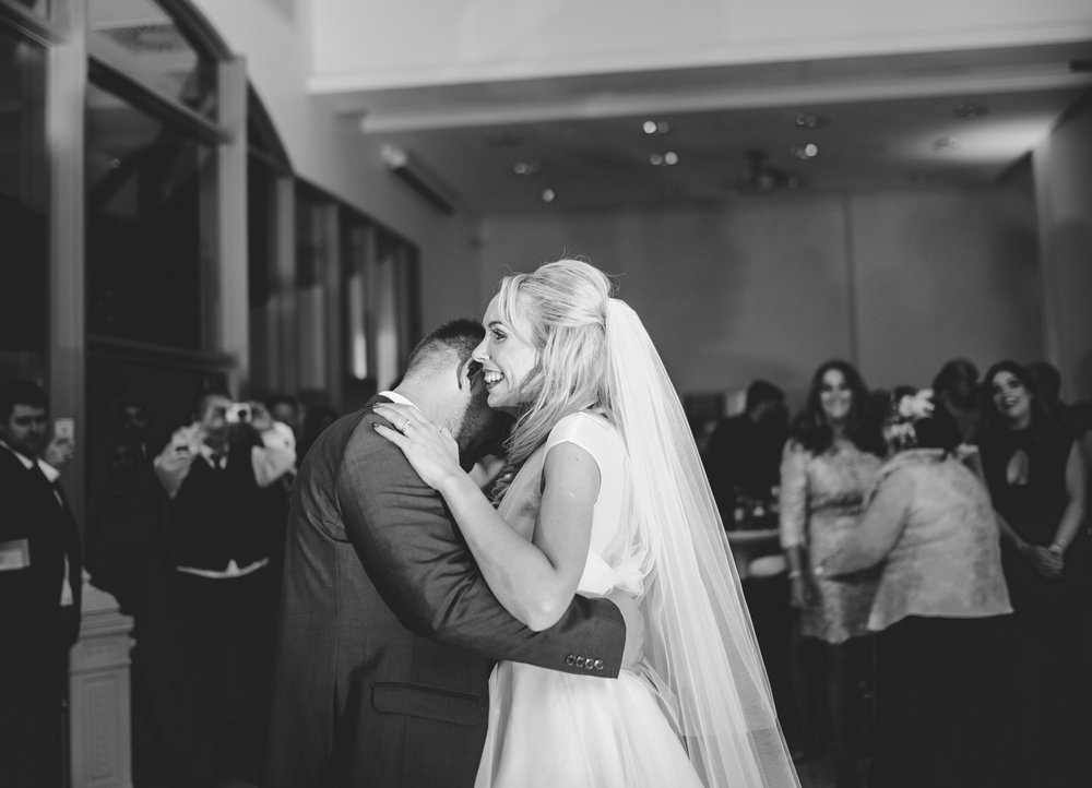 bride and room first dance as Mr and mrs- Documentary style wedding photography
