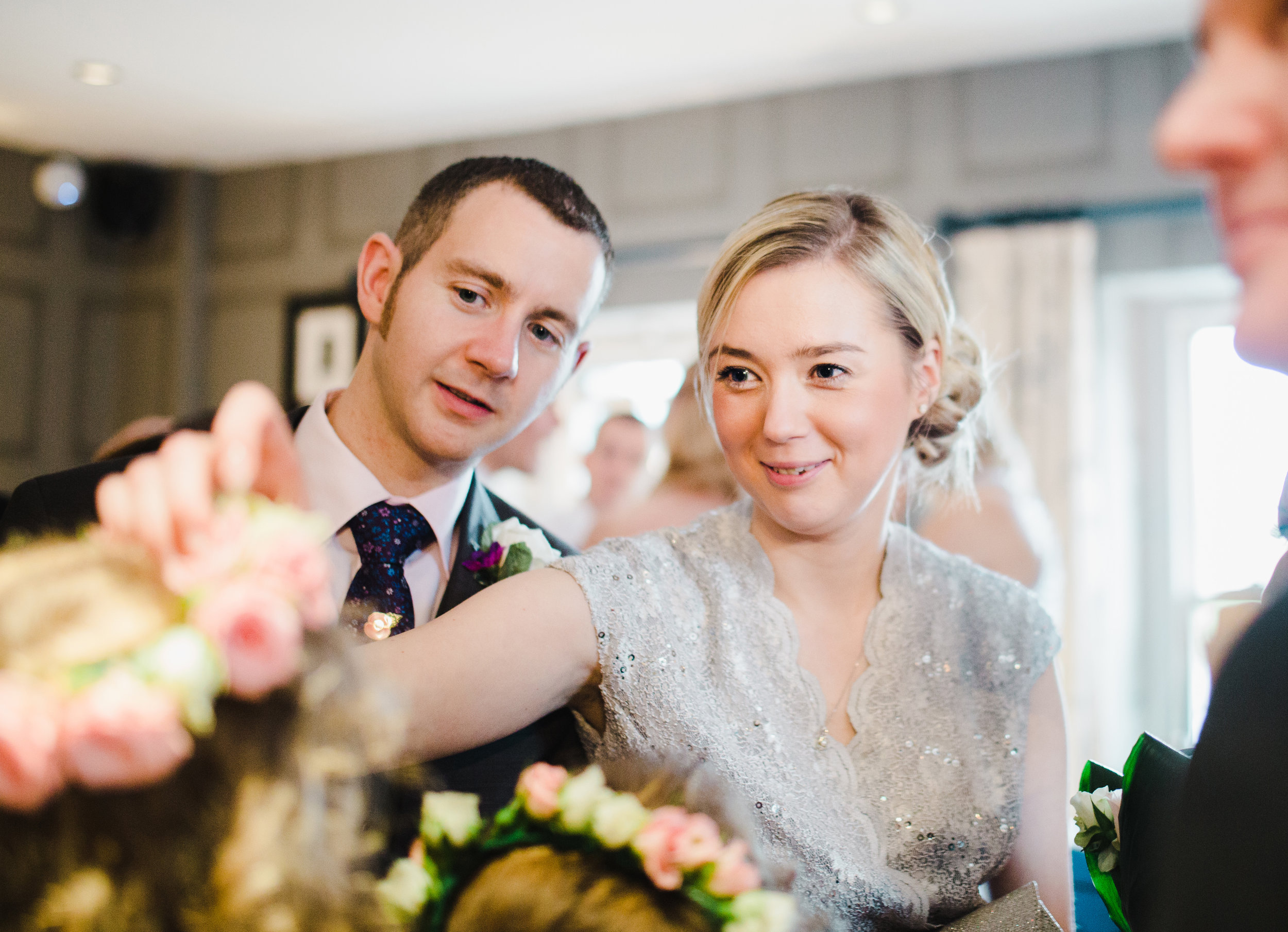 documentary wedding pictures - Spread Eagle Sawley
