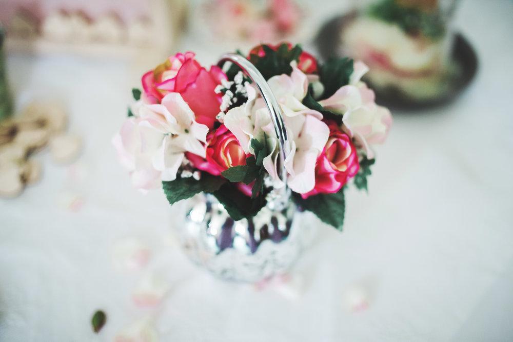 Flowers in a jar- Colourful rustic themed wedding, lancashire wedding photographer