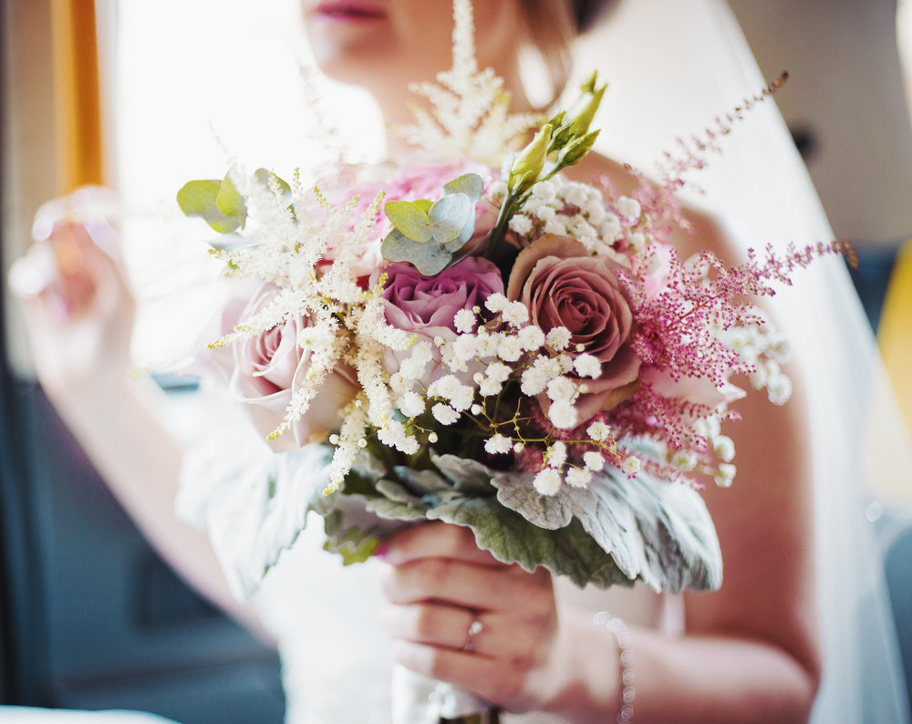 The brides flower bouquet- Relaxed wedding photography