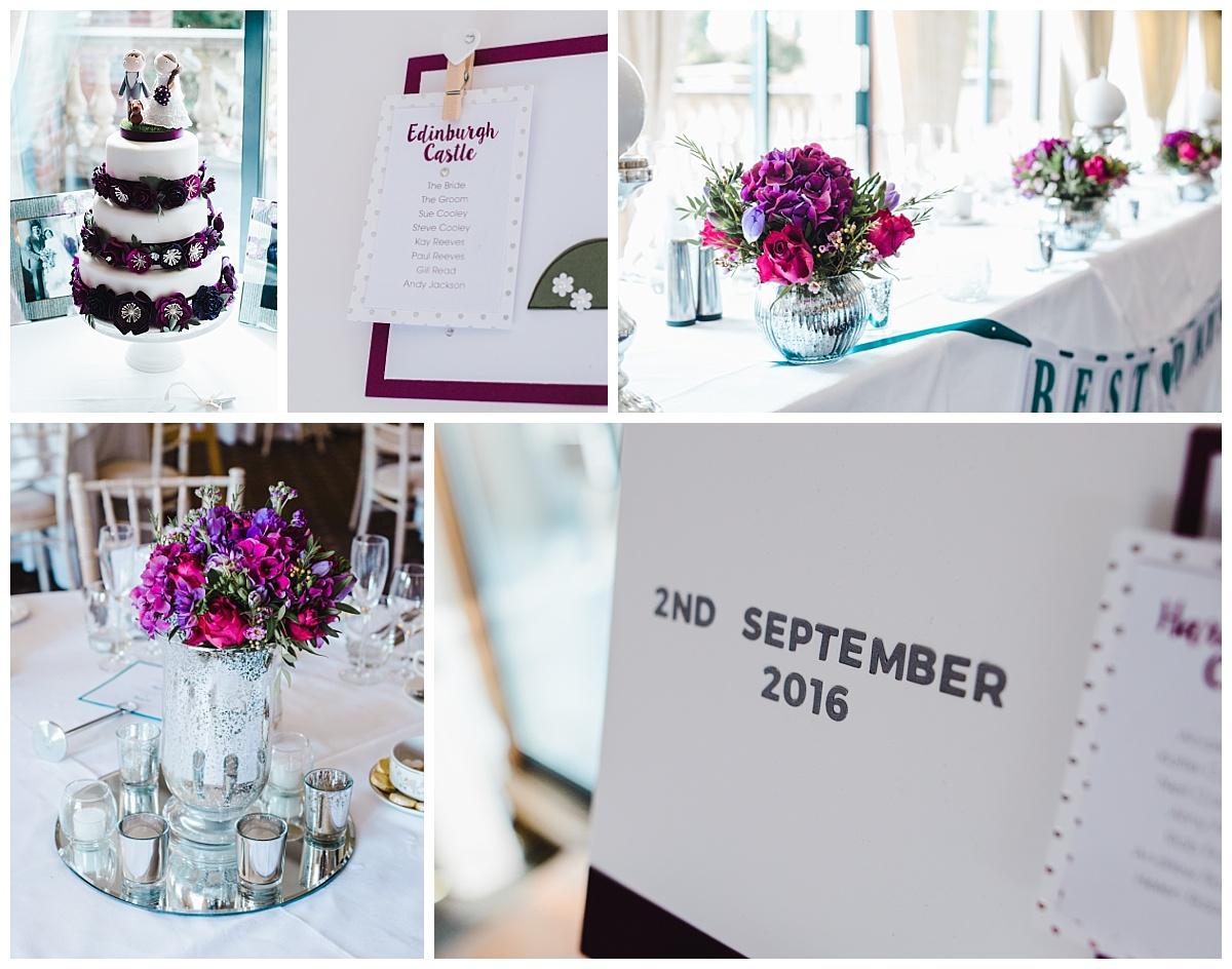 handmade wedding decor ideas - Willington Hall weddings
