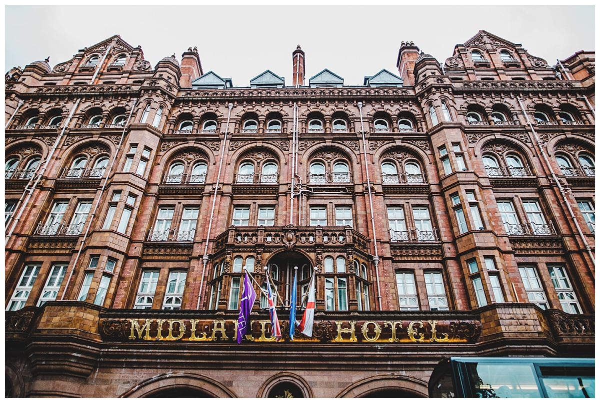 exterior of the midland hotel
