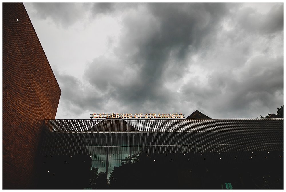 The exterior of the Whitworth Art Gallery, Manchester