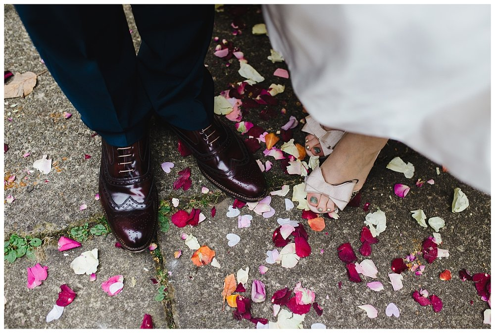 artistic wedding pictures in Lancashire