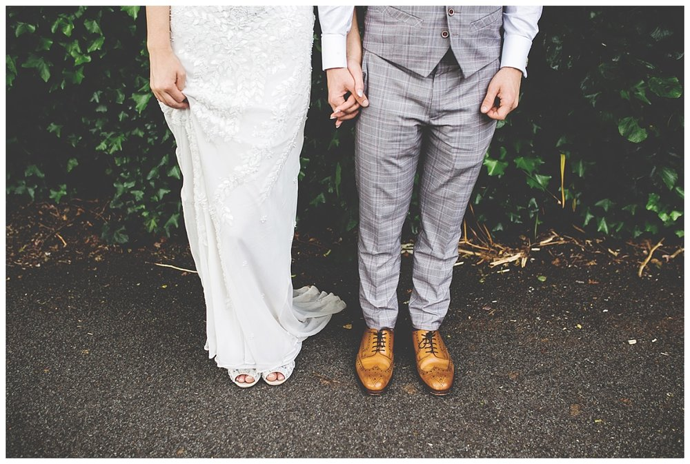 cool and creative couples portraits - wedding photographer in the North West
