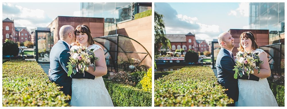 castlefield portraits - city centre wedding