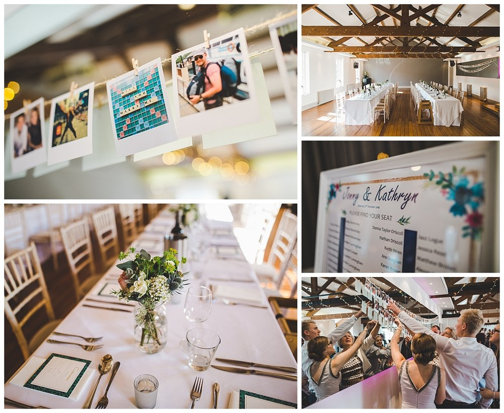 castlefield room wedding - images of the room decor
