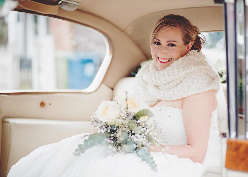 winter wedding in the north west - same sex wedding