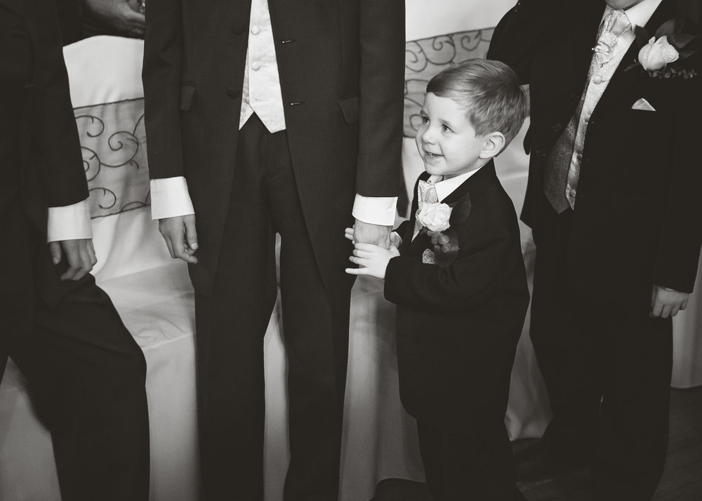 little guests at north west wedding