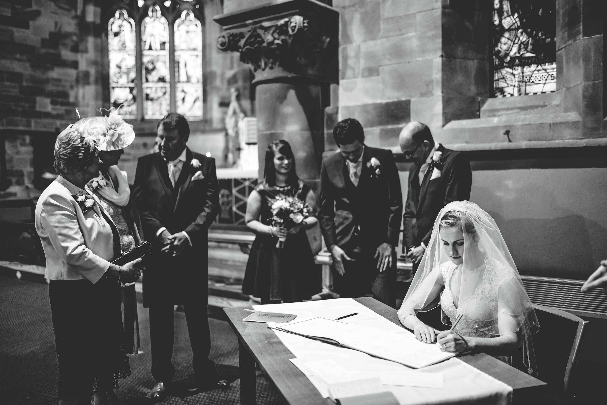 documentary wedding photography shropshire