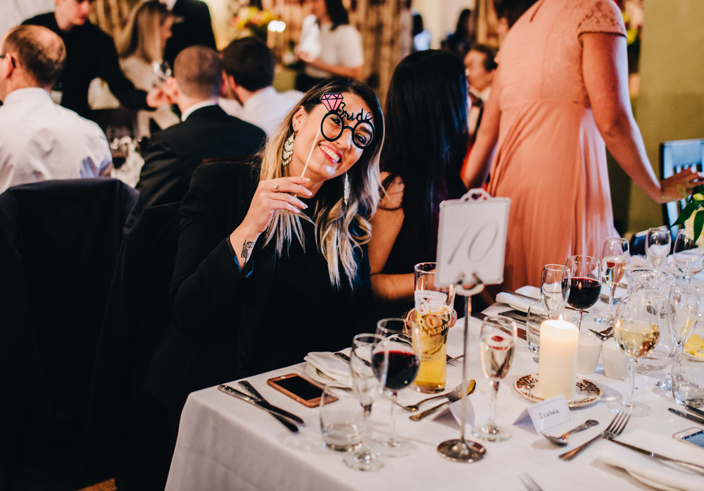 guests having fun - documentary wedding images