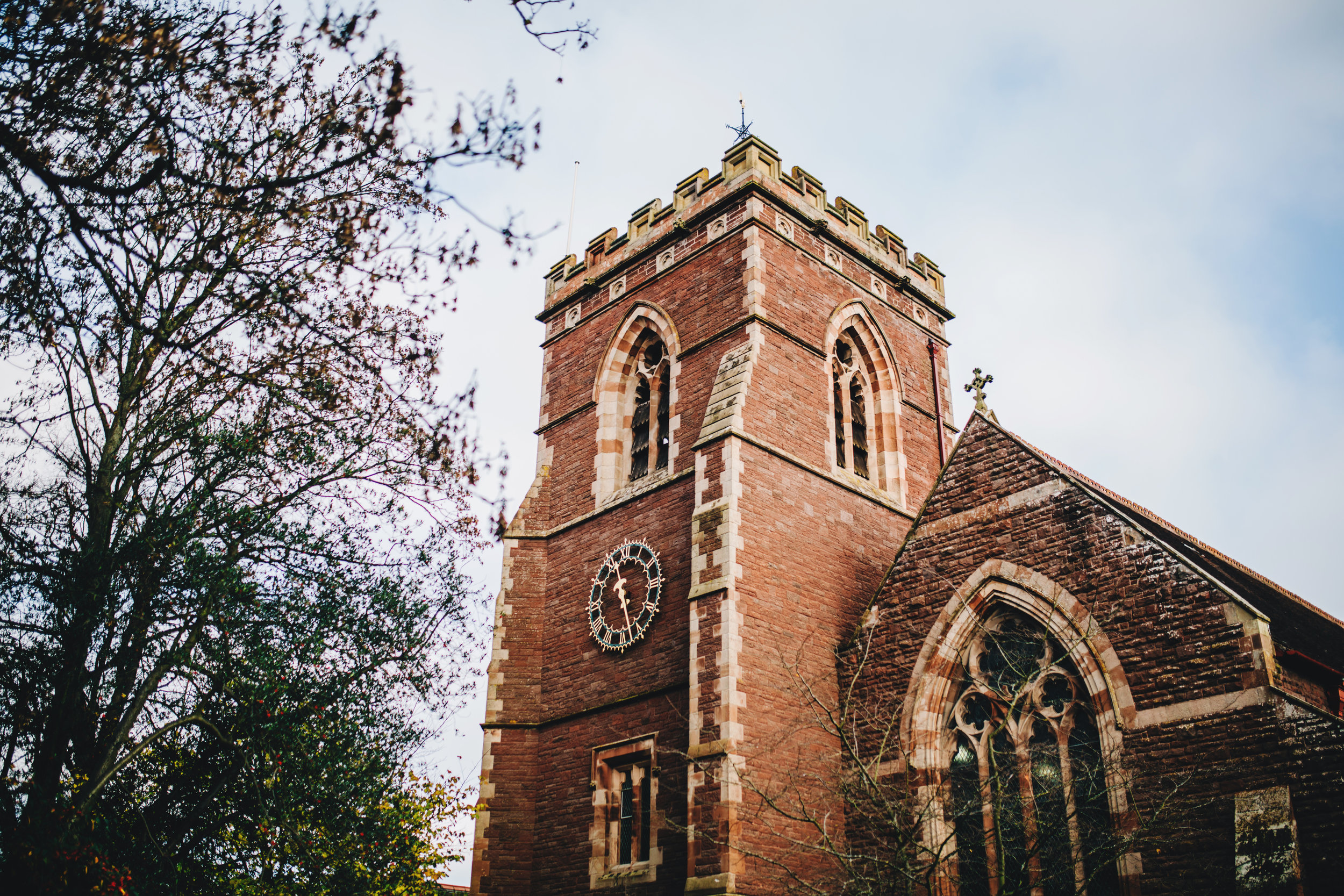 church wedding shropshire