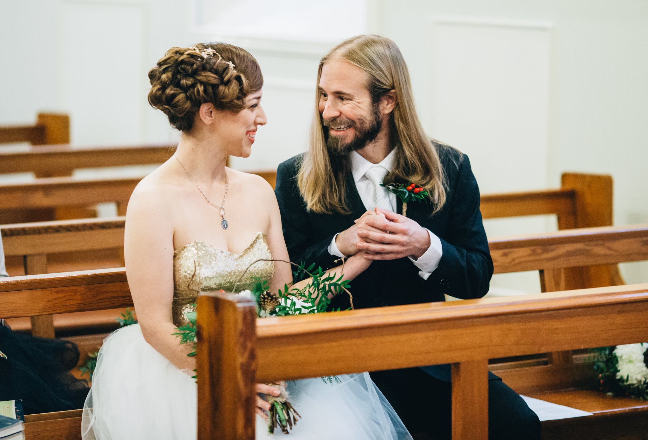 a sweet elopement wedding in Yorkshire