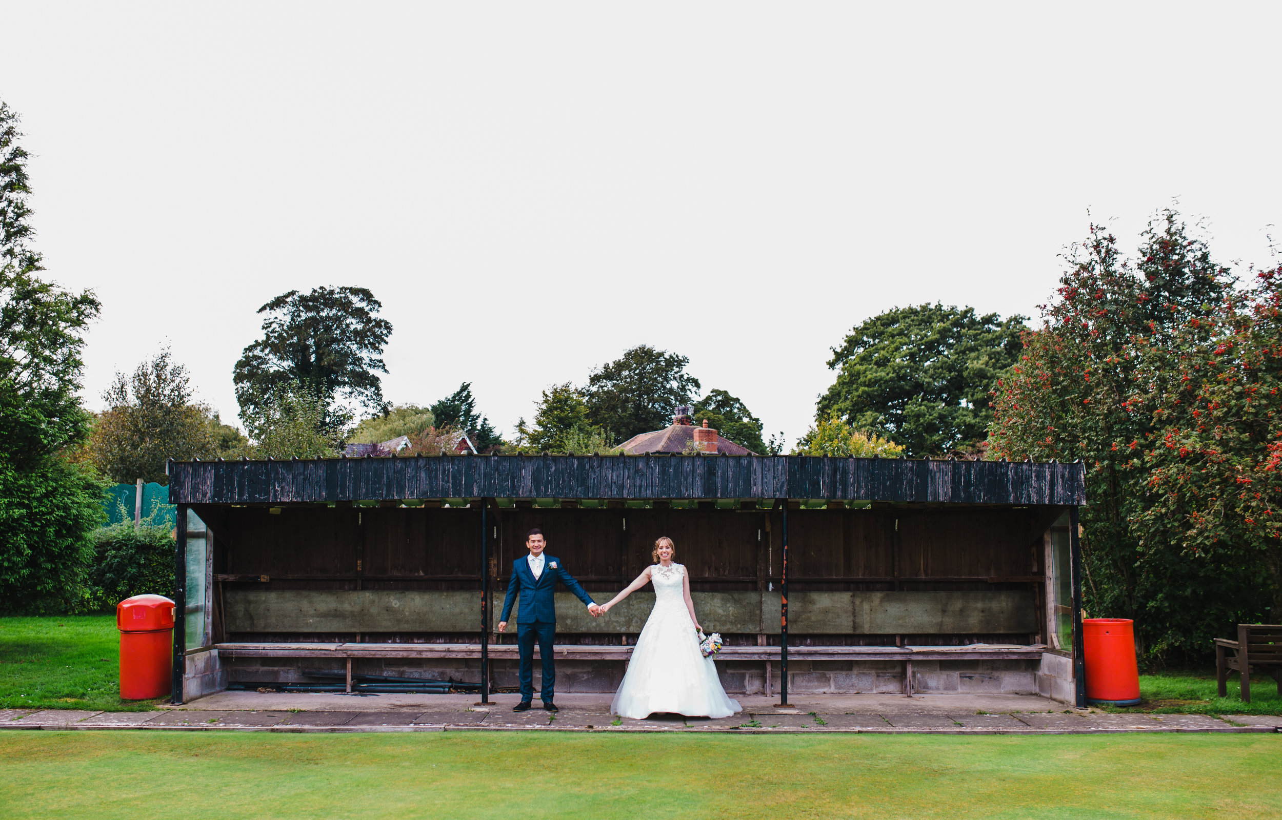 Creative wedding portraits Lancashire