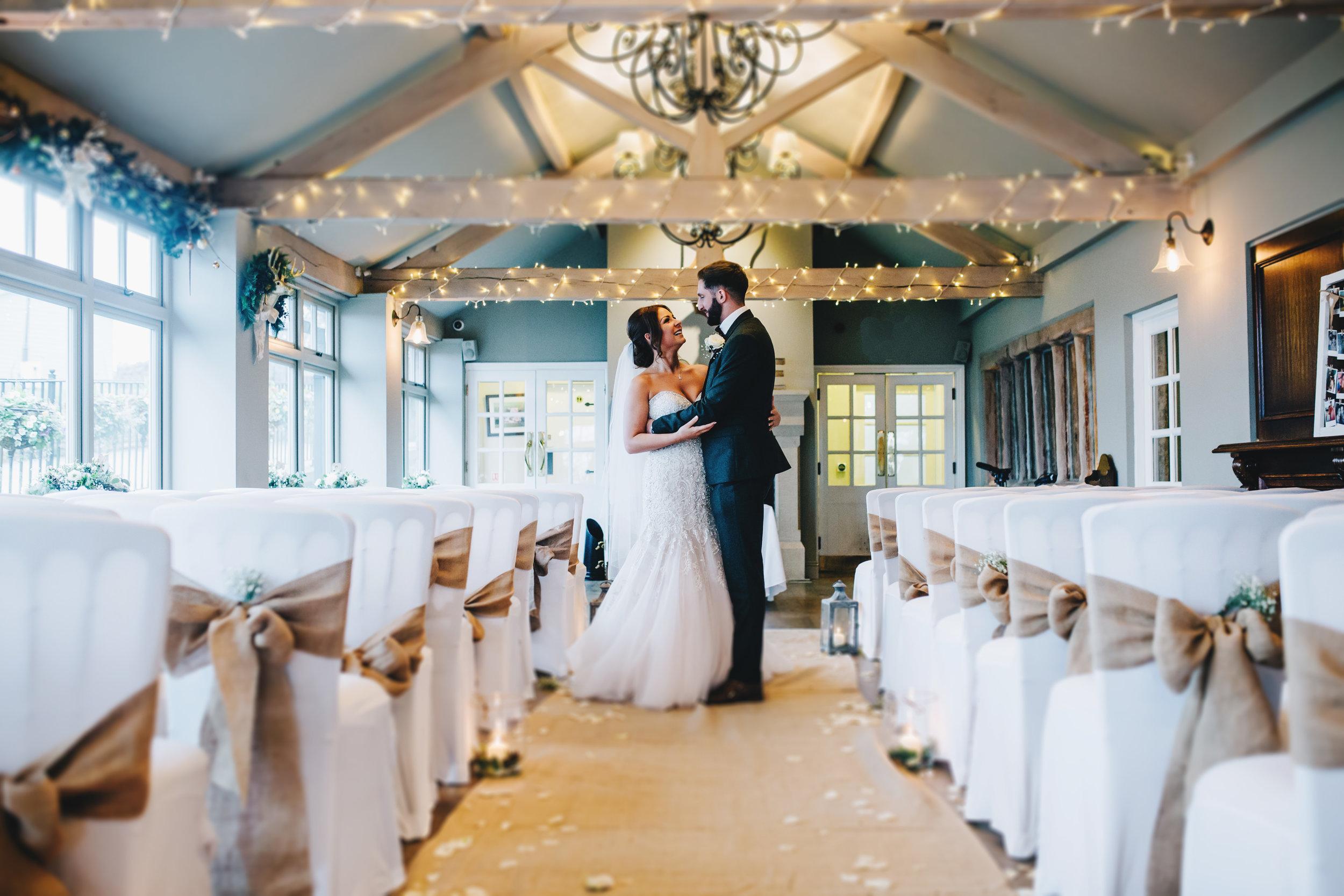 Alma Inn Winter Wedding