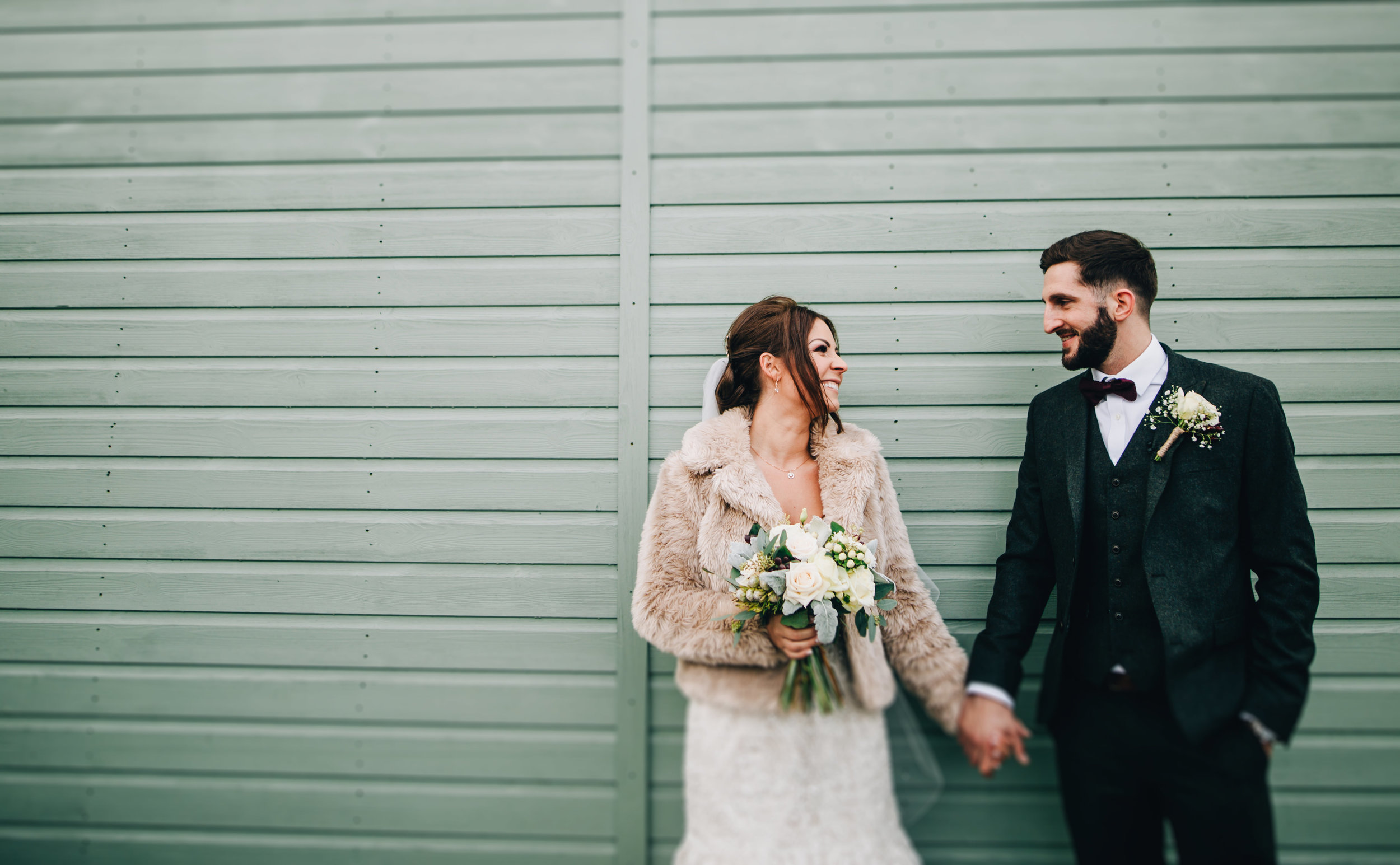 creative wedding portraits Lancashire - alma wedding