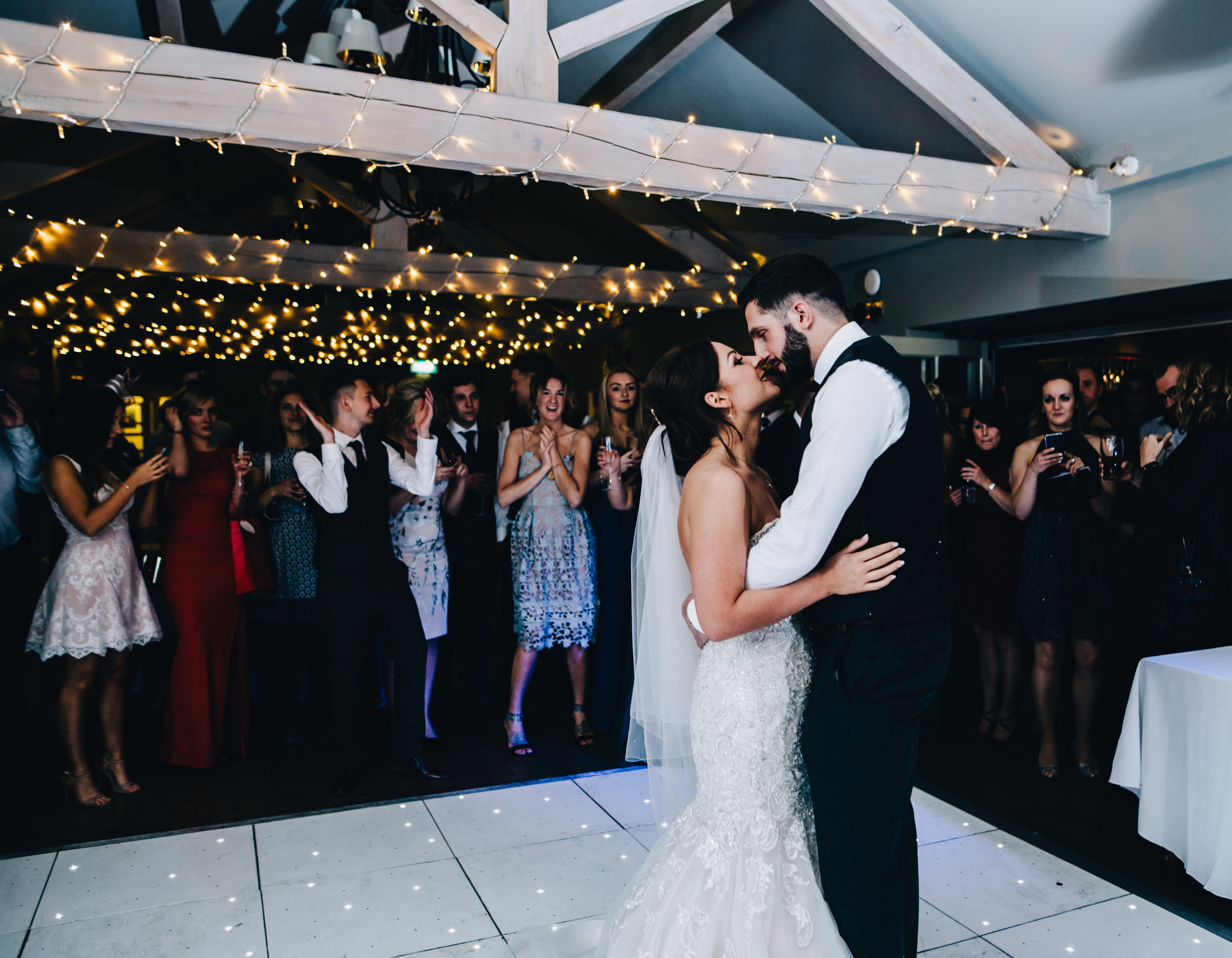 first dance at Alma Inn wedding