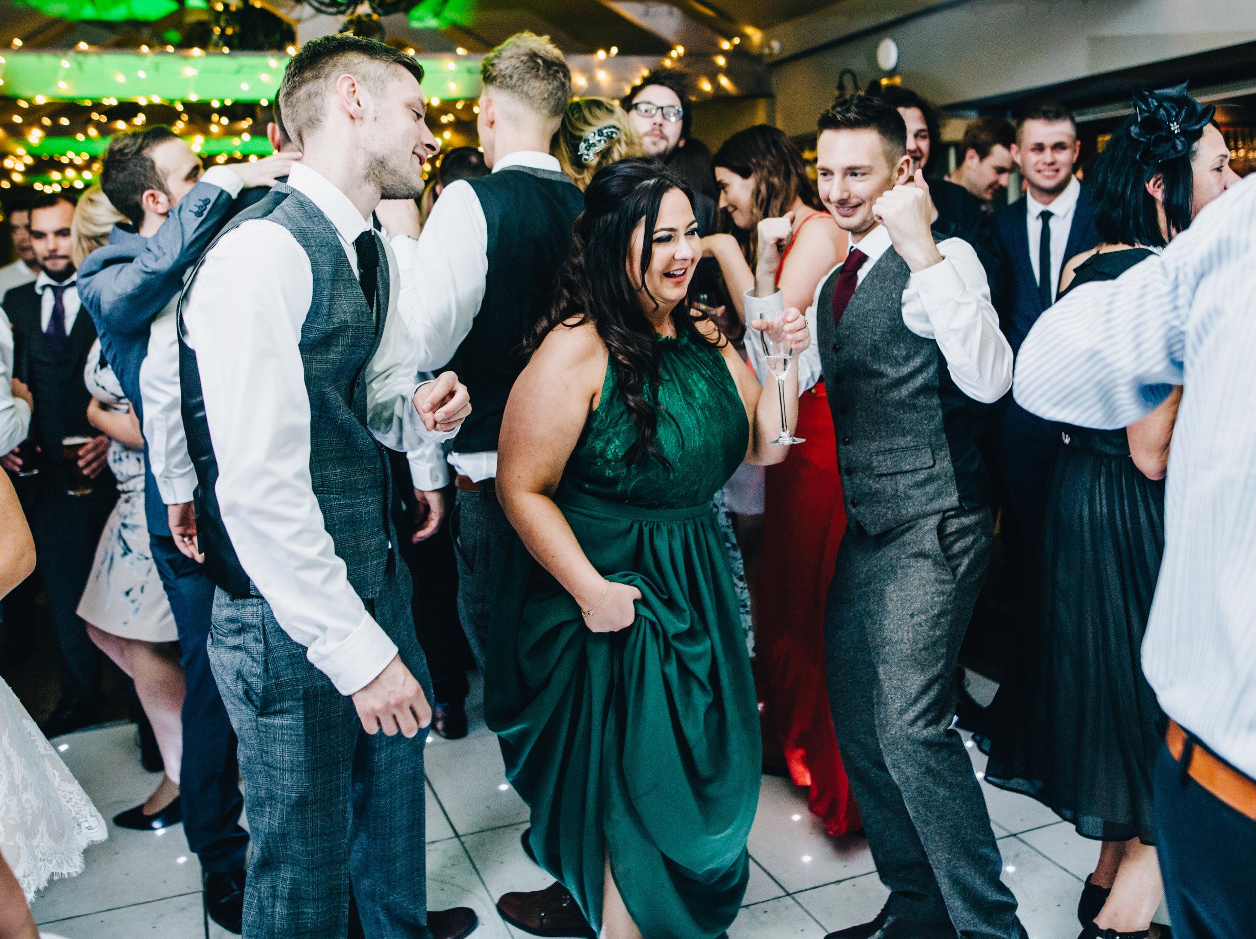 dance floor pictures - Alma Inn Weddnig