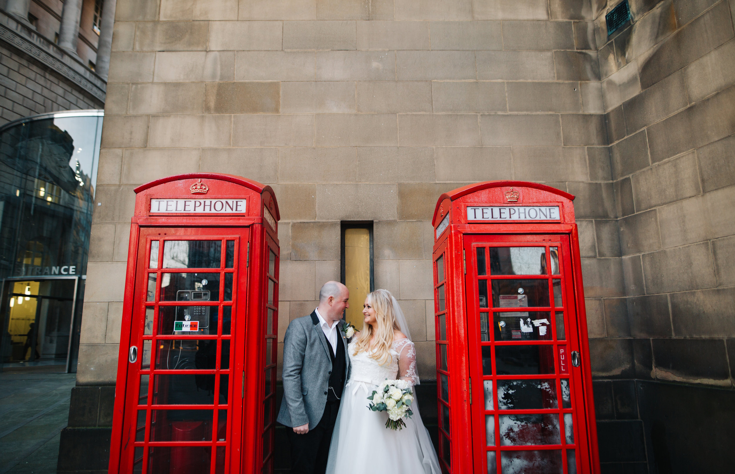 iconic Manchester spots - wedding photography