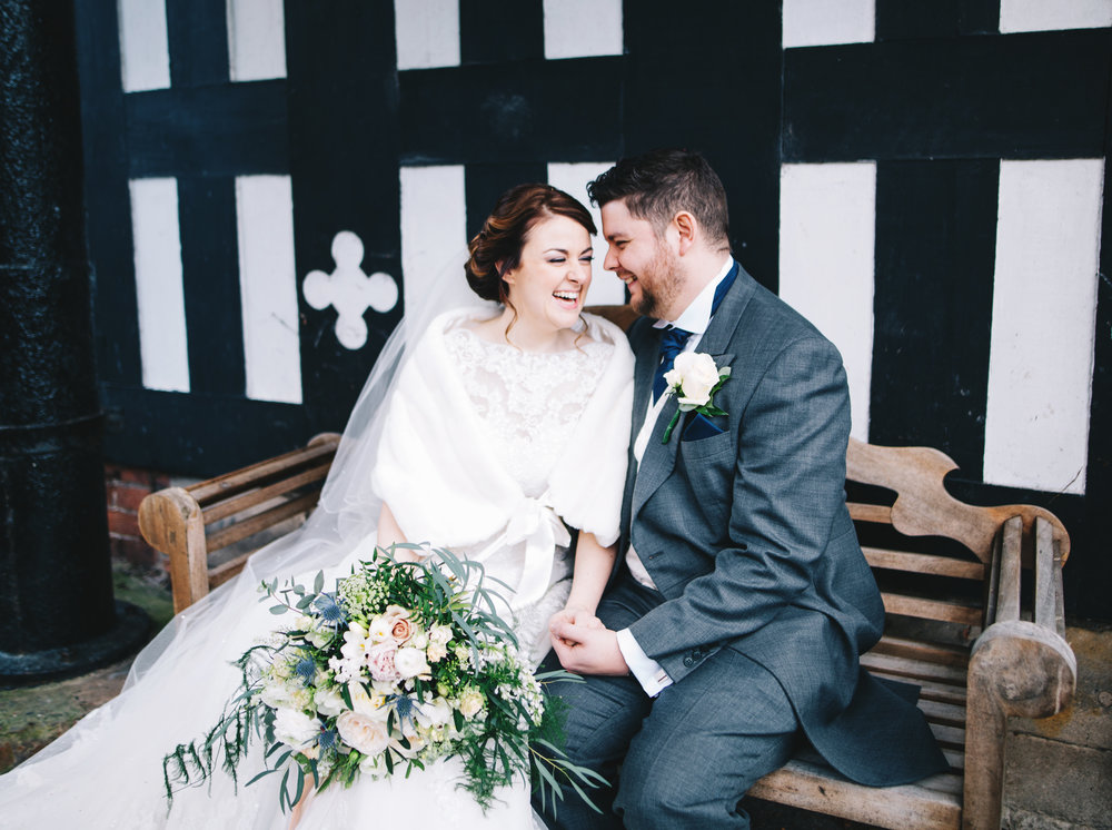 emotional and authentic wedding images in Lancashire