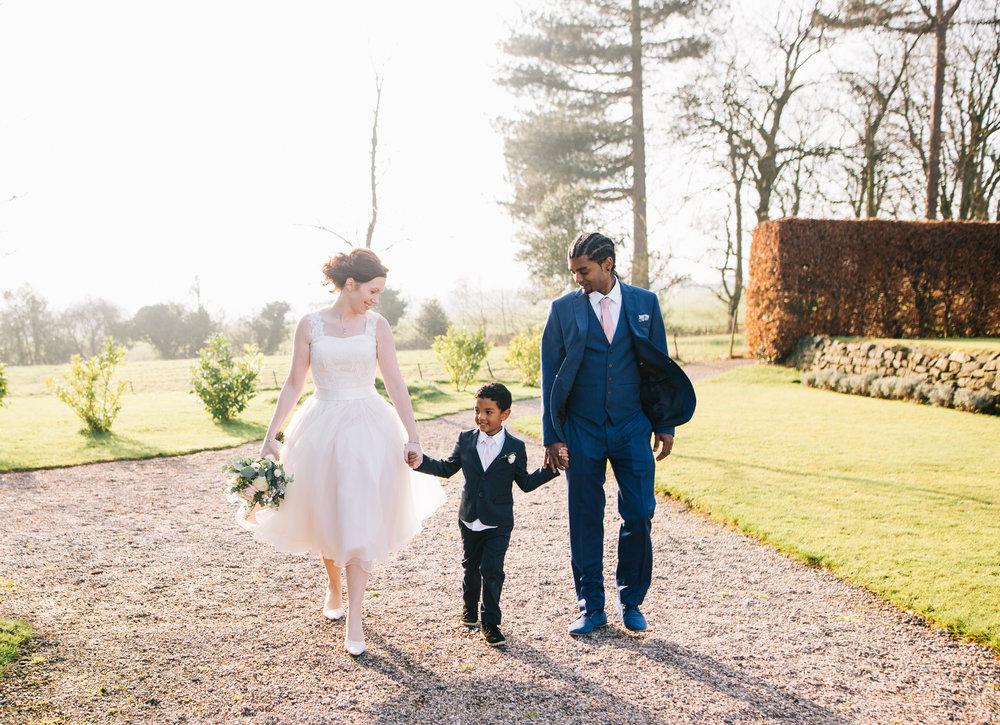 Eaves Hall Wedding Pictures - Lancashire Wedding Photography (54).jpg