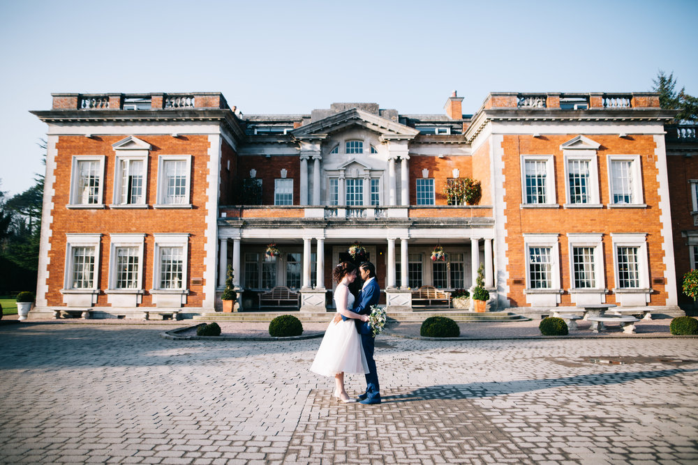 Eaves Hall Wedding Pictures - Lancashire Wedding Photography (56).jpg
