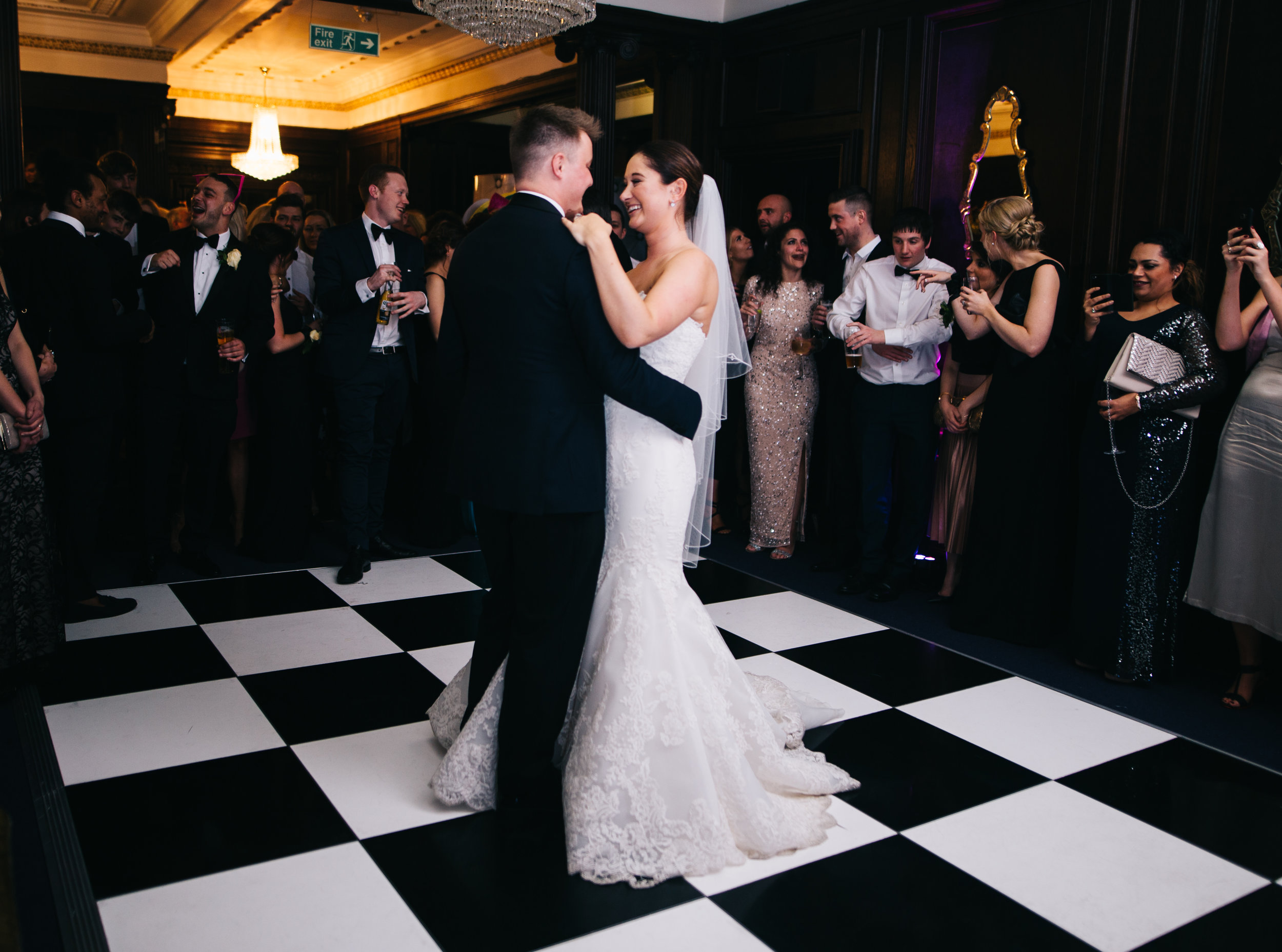 First dance - Eaves Hall wedding photography