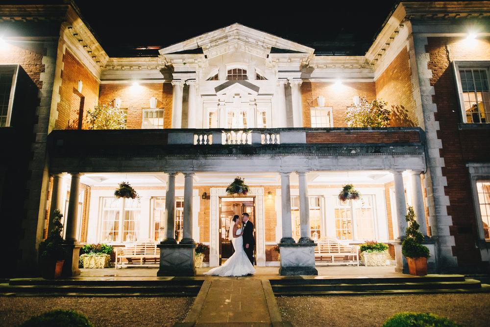 Eaves Hall Wedding Photography - Winter Wedding in Lancashire  (58).jpg