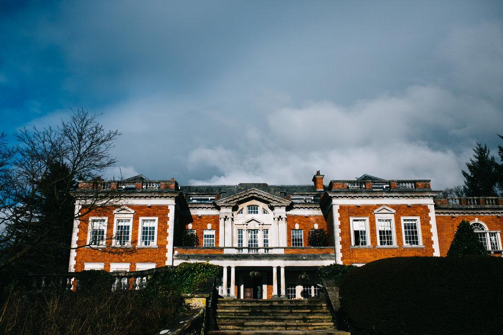 Eaves Hall Wedding Photography - Winter Wedding in Lancashire  (1).jpg