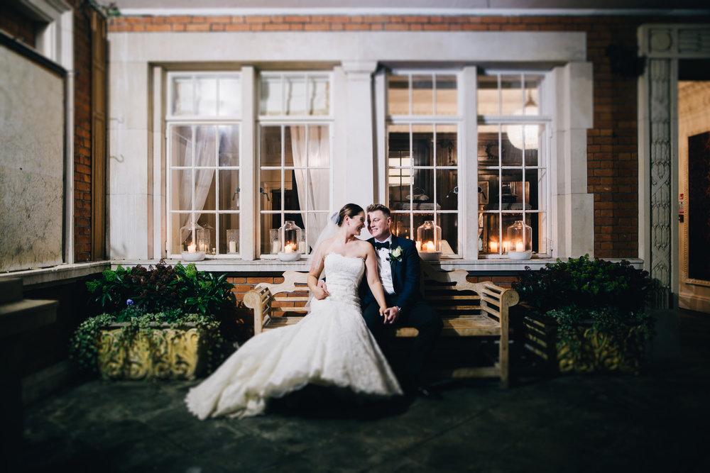 creative wedding photography at eaves hall