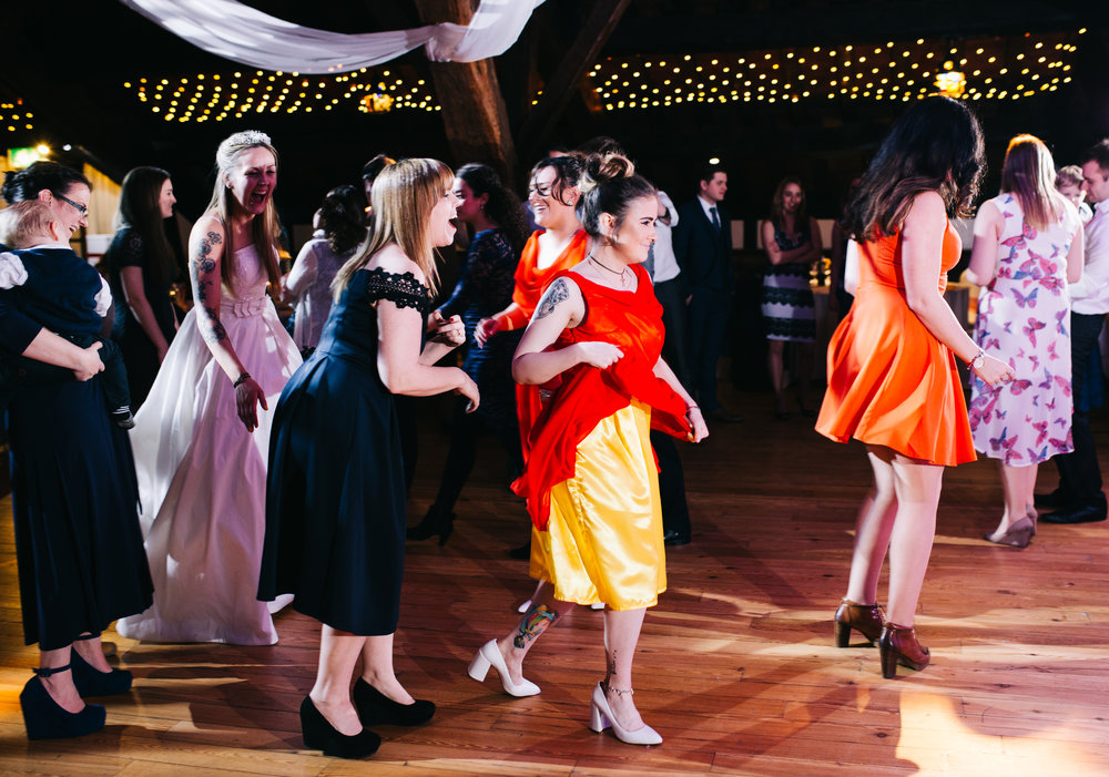 Rivington Hall Barn Wedding - Wedding Photography Lancashire (828).jpg