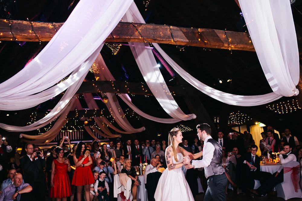 Rivington Hall Barn Wedding - Wedding Photography Lancashire (775).jpg