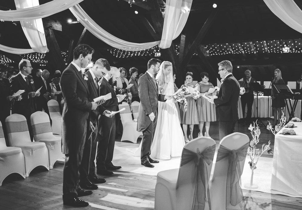 Rivington Hall Barn Wedding - Wedding Photography Lancashire (154).jpg