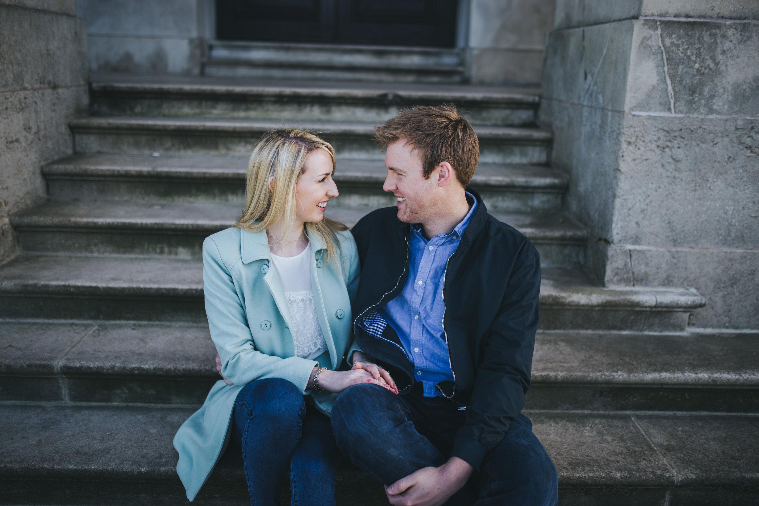 Lancashire wedding photographer - engagement shoot