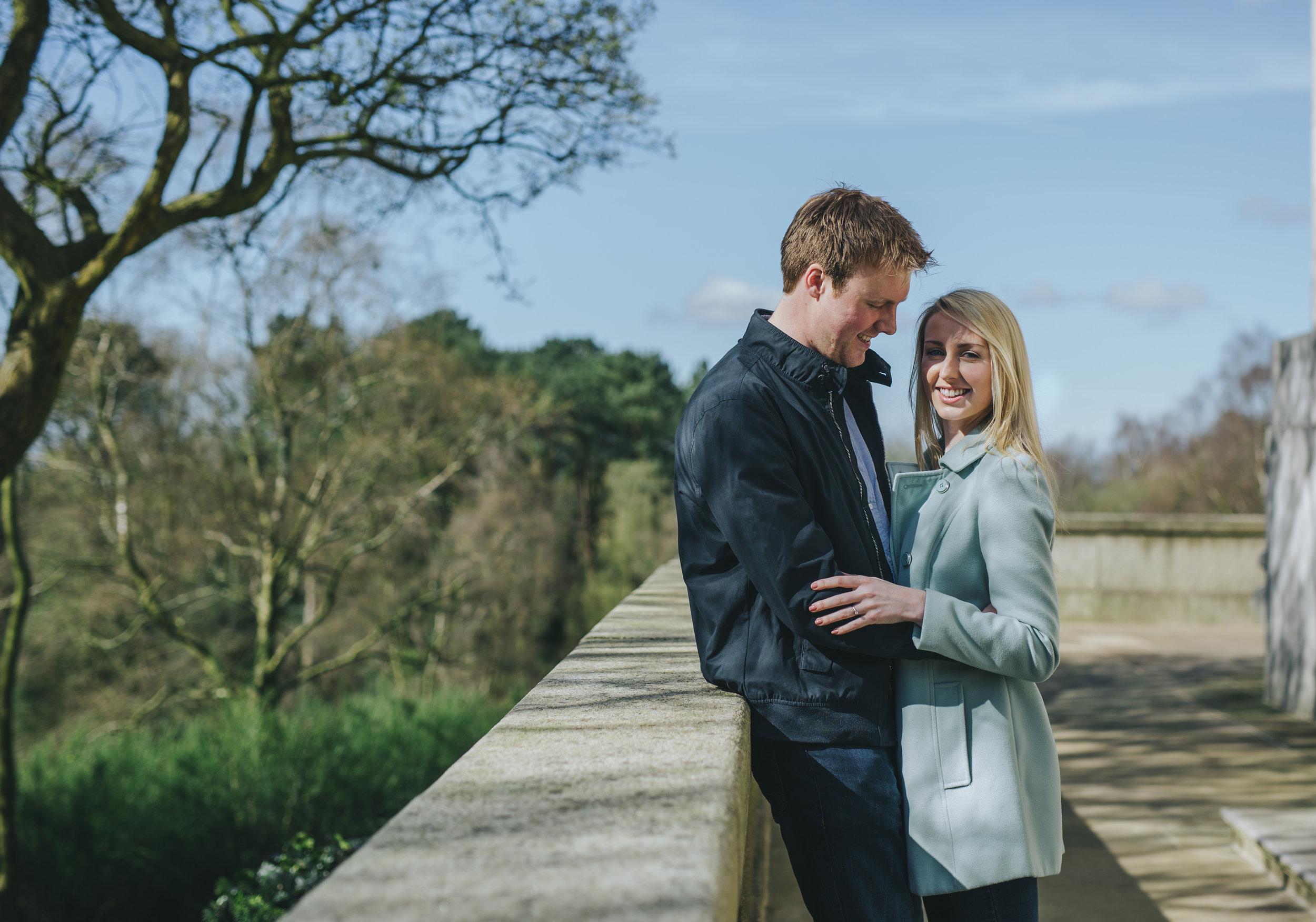 sunshine engagement shoot Lancashire