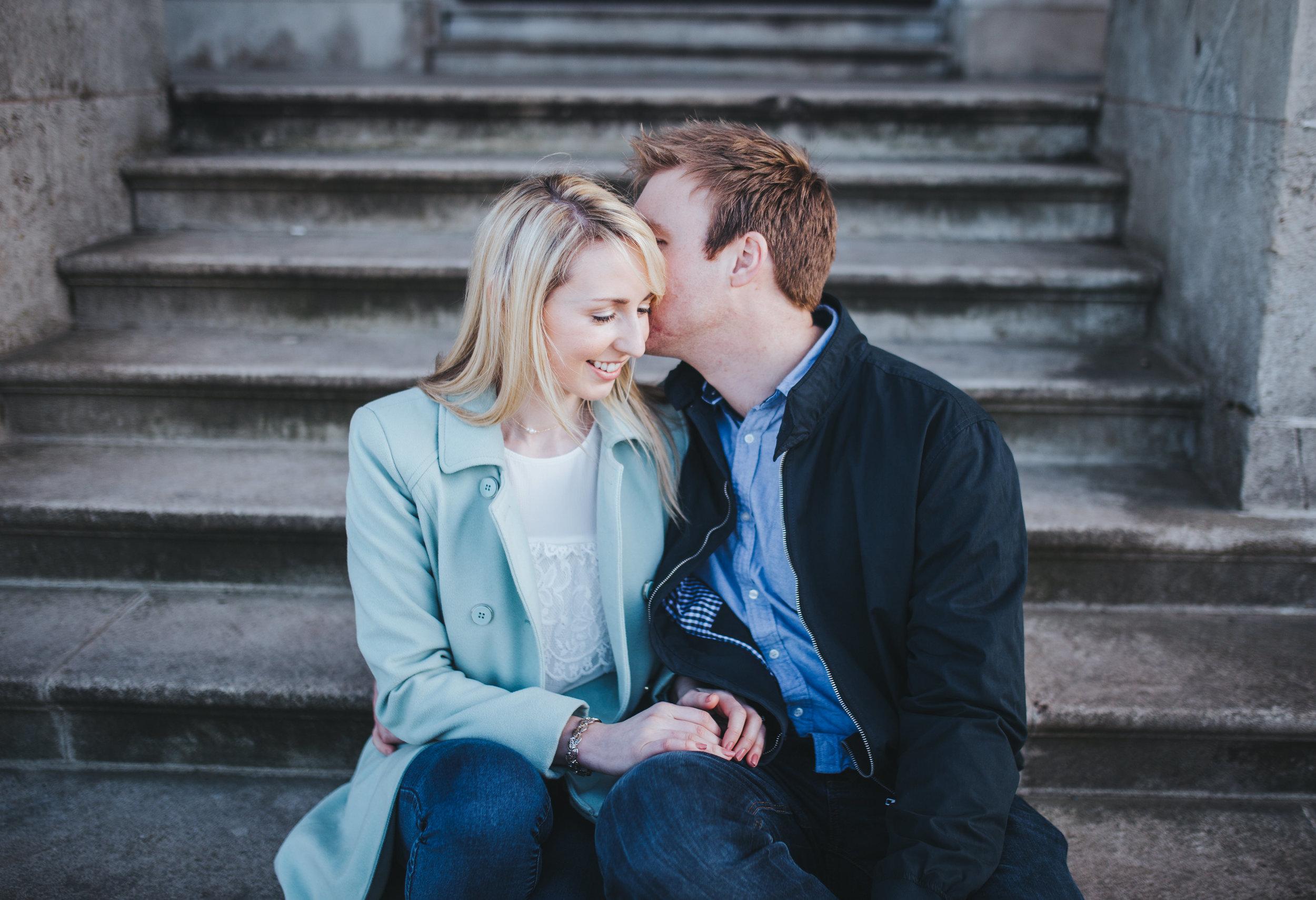 relaxed couples portraits - lancashire wedding photographer