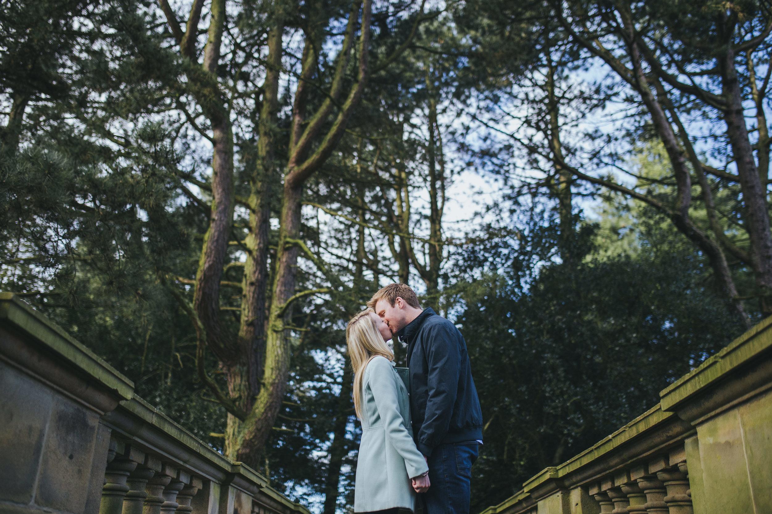 creative wedding photographs Lancashire - williamson park lancashire