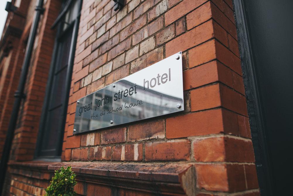 Great John Street Hotel Wedding venue in Manchester