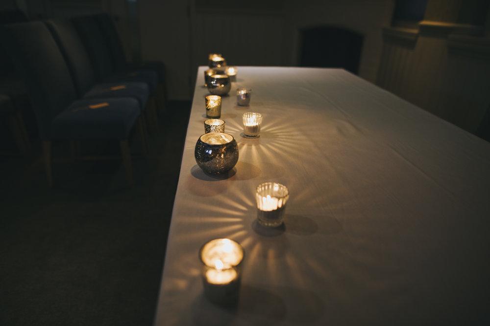 the ceremony room at great john street hotel
