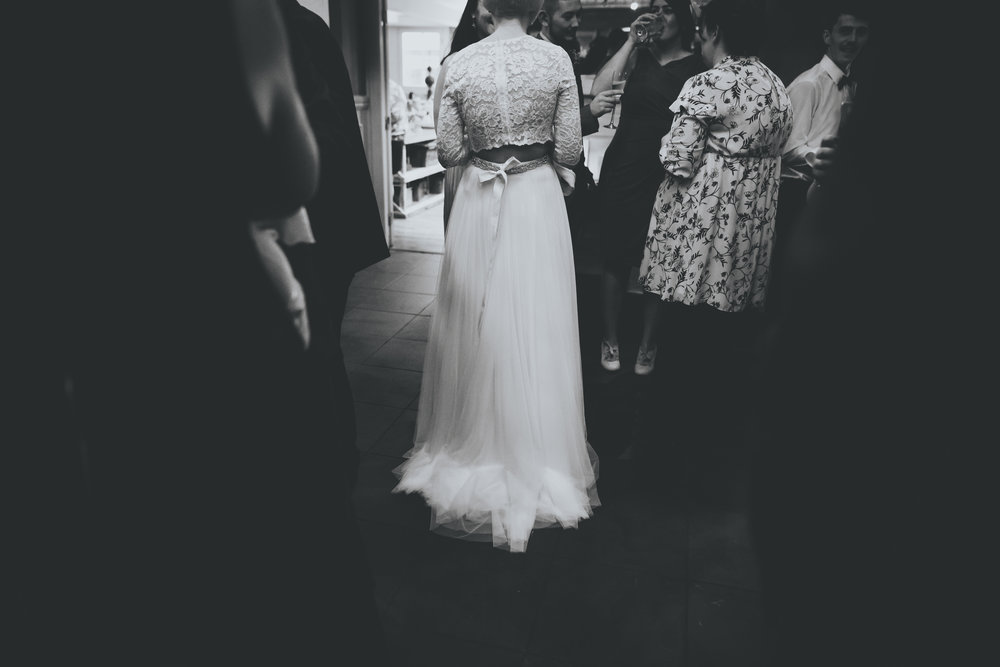 artistic black and white wedding images - manchester wedding photographer