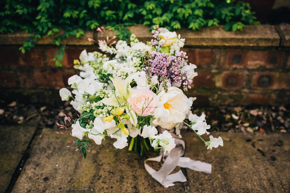 wedding flowers - rustic theme