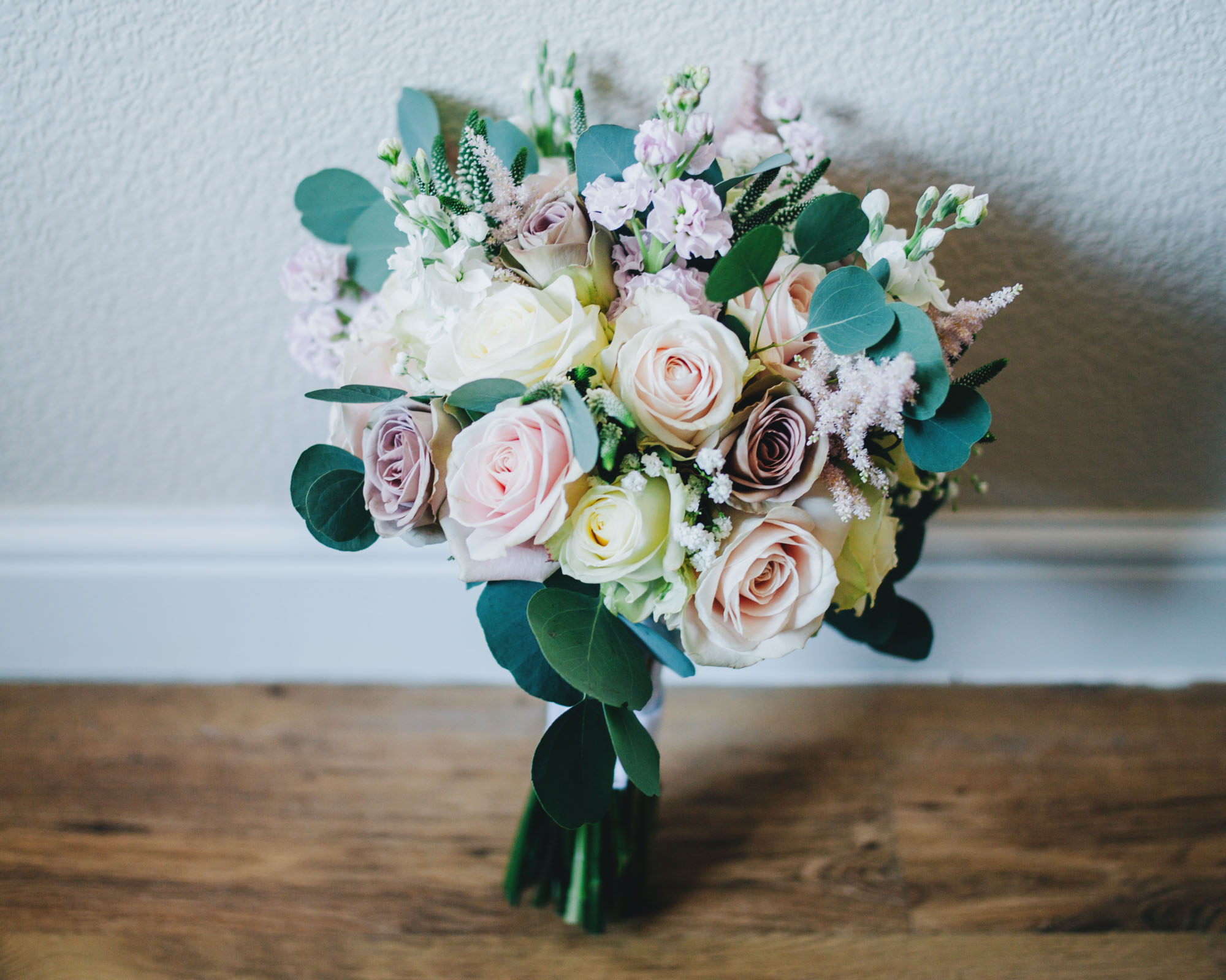 wedding bouquet - Lancashire wedding pictures