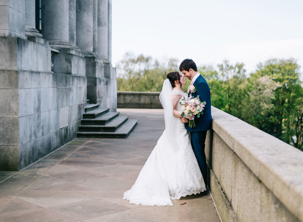 Bride and groom photography, Creative wedding photography of the bride and groom.